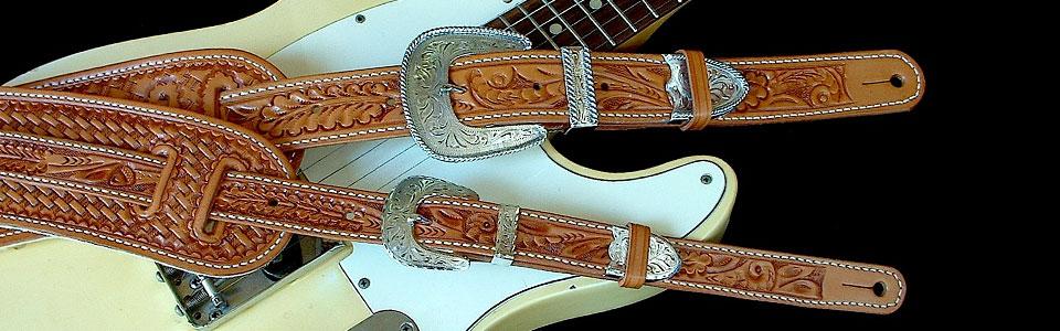 df38aea5f479 El Dorado Guitar Straps « Truly Special Leather Guitar Straps to ...